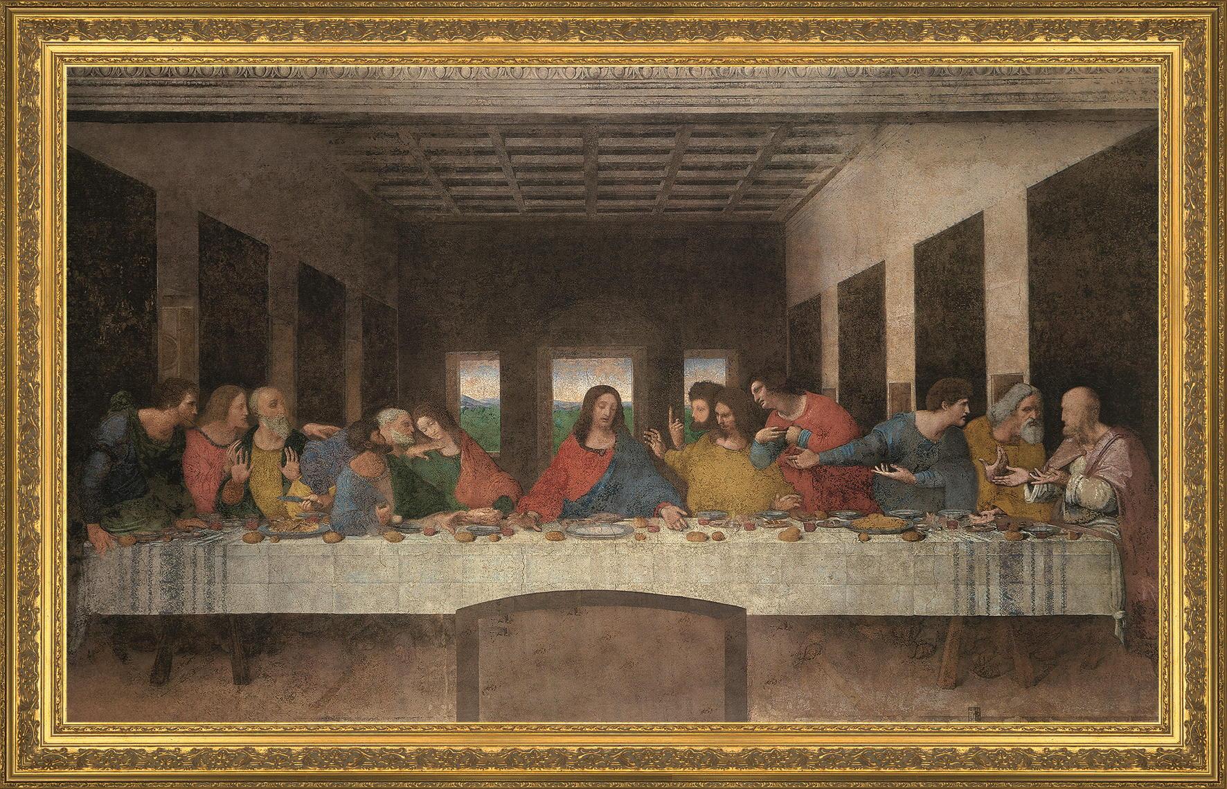 Das letzte Abendmahl (Leonardo da Vinci) von Leonardo da Vinci