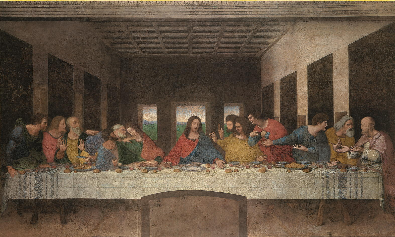 "Kunstdruck ""Das Abendmahl"" Leonardo da Vinci"