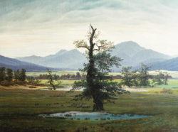 """Kunstdruck """"Der einsame Baum"""" Caspar David Friedrich"""