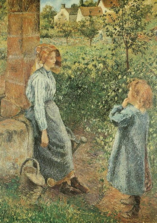 PS-004 Frau und Kind am Brunnen_RL
