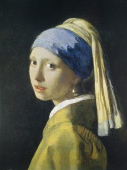 """Kunstdruck """"Das Mädchen mit dem Perlenohrring"""" von Jan Vermeer"""