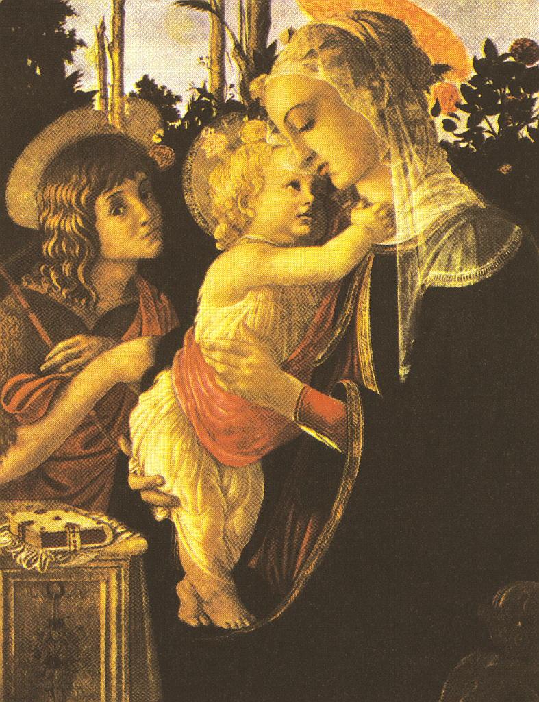 """Kunstdruck """"Madonna mit Christkind"""" von Sandro Botticelli"""