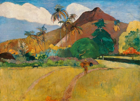 GA-005 Berge auf Tahiti