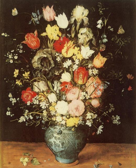 BR-001 Blumen in blauer Vase_RL