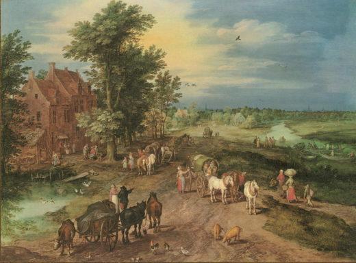 BR-002 Landschaft mit Dorfschaenke_RL