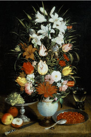 BR-105 Vase of flowers_RL