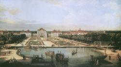 """Kunstdruck """"Schloss Nymphenburg"""" von Canaletto"""