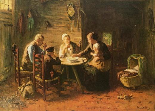 DHJ-001 Familie beim Abendmahl_RL