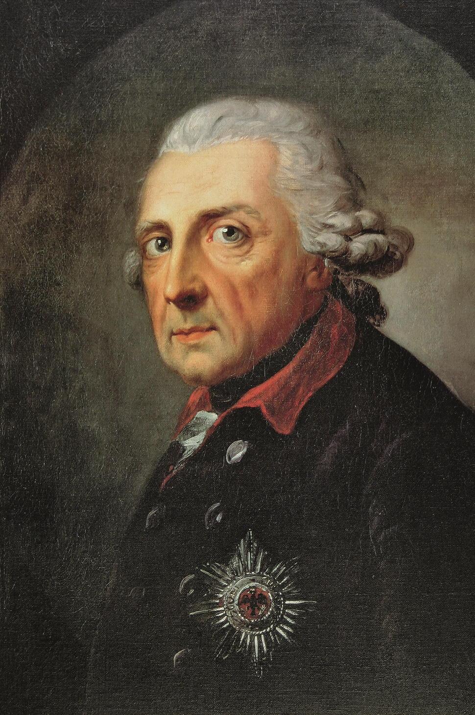 Kunstdruck Friedrich Konig Von Preussen Von Graff Anton