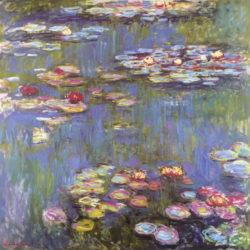 """Kunstdruck """"Seerosen"""" von Claude Monet"""