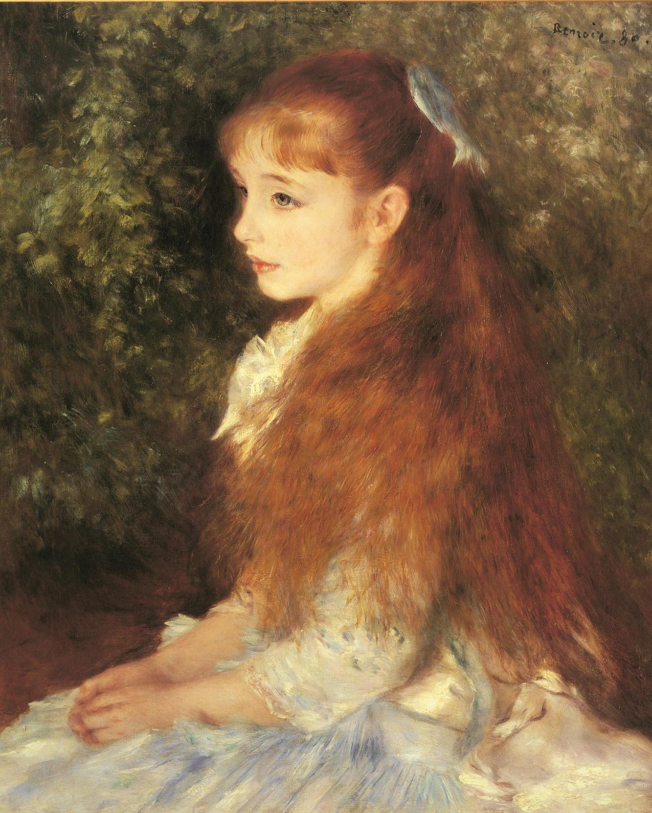 "Kunstdruck """"Mademoiselle Irene Cohen d`Anvers"" von Renoir"