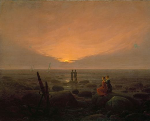 C.D.Friedrich / Moonrise by the Sea