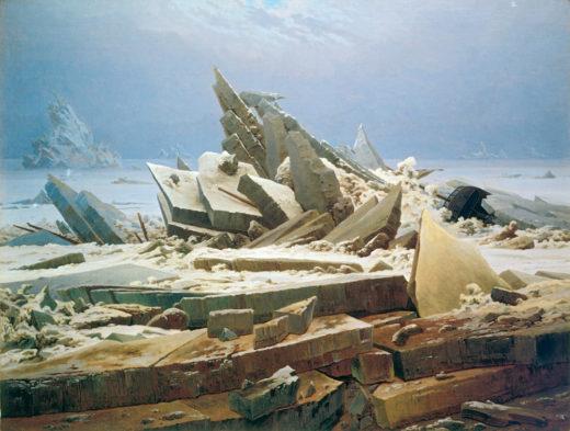 C.D.Friedrich, Arctic Ship Wreck/1823