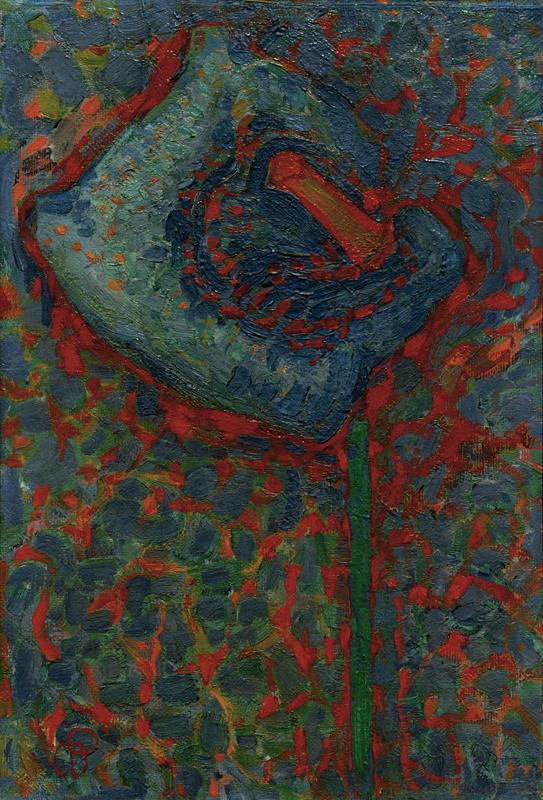 "Piet Mondrian ""Aronstab"" 54 x 80 cm"