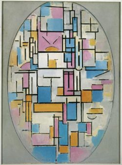 "Piet Mondrian ""Mondrian Titel fehlt"" 107 x 79 cm"