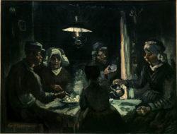 """Vincent van Gogh """"Die Kartoffelesser"""" 72 x 93 cm"""