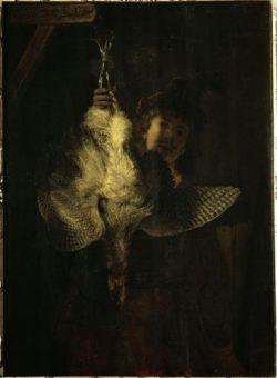 "Rembrandt ""Der-Rohrdommeljäger"" 121 x 89 cm"