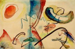 "Wassily Kandinsky ""Improvisation"" 48 x 31 cm"