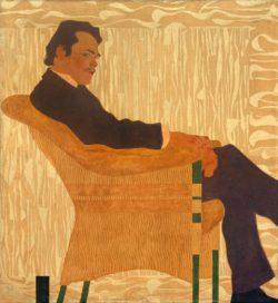 """Egon Schiele """"Porträt des Malers Hans Massmann"""" 110 x 120 cm"""