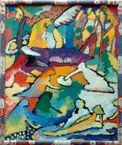 "Wassily Kandinsky ""Fragment Zu Komposition"" 48 x 58 cm"