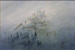 """Caspar David Friedrich """"Morgennebel im Gebirge""""  104 x 71 cm"""