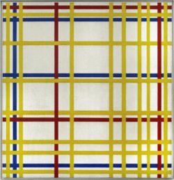 """Piet Mondrian """"New York City New York City"""" 119 x 114 cm"""