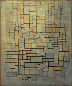 "Piet Mondrian ""Komposition Compositie"" 120 x 100 cm"