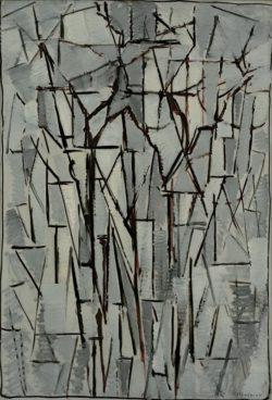 "Piet Mondrian ""Komposition Bäume"" 98 x 65 cm"