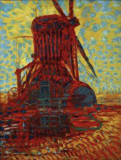 """Piet Mondrian """"Mühle im Sonnenlicht"""" 114 x 87 cm"""