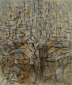 "Piet Mondrian ""Komposition Compositie"" 95 x 80 cm"