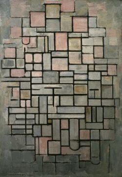 "Piet Mondrian ""Komposition Compositie"" 88 x 61 cm"