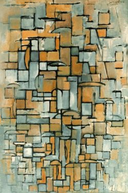 """Piet Mondrian """"Composition in Linie and Color"""" 96 x 64 cm"""
