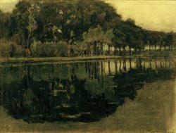 "Piet Mondrian ""Geinrust Farm with High Horizon"" 46 x 62 cm"