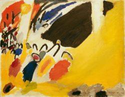 "Wassily Kandinsky ""Impressioni"" 100 x 77 cm"