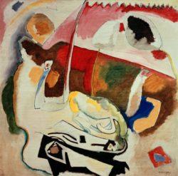 "Wassily Kandinsky ""Improvisation"" 108 x 21 cm"