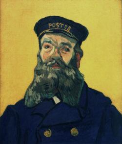 """Vincent van Gogh """"Le Facteur Joseph Roulin"""" (Der Brieftraeger Joseph Roulin) 65 x 54 cm"""