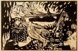"Wassily Kandinsky ""Fuga"" 45 x 29 cm"