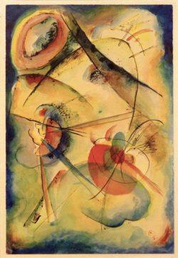 "Wassily Kandinsky ""Komposition"" 23 x 34 cm"