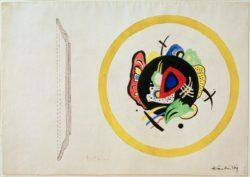"Wassily Kandinsky ""Design For A Fruit Dish"" 44 x 30 cm"