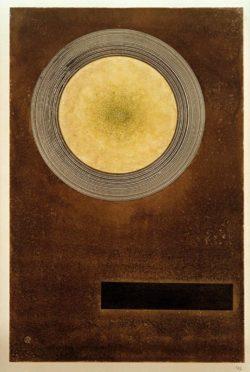 "Wassily Kandinsky ""Elemental Effect"" 23 x 34 cm"
