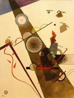 "Wassily Kandinsky ""Brown Ray"" 30 x 40 cm"