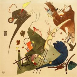 "Wassily Kandinsky ""Circling"" 26 x 36 cm"