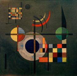 "Wassily Kandinsky ""Gegengewichte"" 49 x 49 cm"