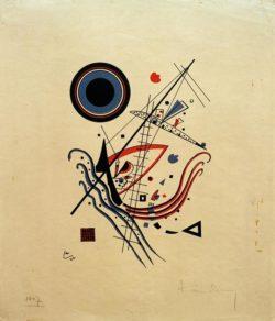 """Wassily Kandinsky """"Blau"""" 14 x 21 cm"""