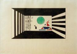 """Wassily Kandinsky """"Bilder Einer Ausstellung Bild Gnomus"""" 57 x 38 cm"""
