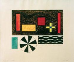 """Wassily Kandinsky """"Bilder Einer Ausstellung Bild Bydlo"""" 51 x 39 cm"""