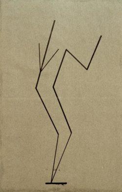 """Wassily Kandinsky """"Analytische Zeichnung Nach Photos"""" 14 x 21 cm"""