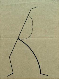 """Wassily Kandinsky """"Analytische Zeichnung Nach Photos"""" 16 x 21 cm"""