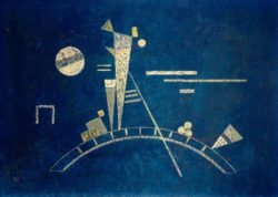 "Wassily Kandinsky ""Fragil"" 48 x 34 cm"
