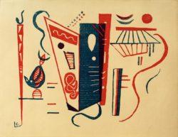 "Wassily Kandinsky ""Holzschnitt Für Siecle"" 28 x 21 cm"